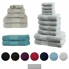 Dreamscene 100% Cotton Towel Bale Luxury Super Soft Bath Hand Face Cloth Set NEW