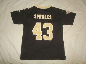 Kids Nike New Orleans Saints Darren Sproles #43 Football Jersey Youth Medium