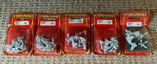 CHAOS FLAMERS OF TZEENTCH IN BLISTER - METAL WARHAMMER FANTASY (5 AVAILABLE)