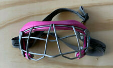 Cascade Youth Girls Lacrosse/Field Hockey Eye Mask Cage Goggles Soft Pink