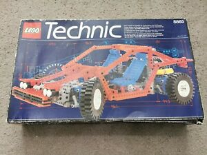 Lego Technic 8865 Test Car From 1988 Never Built Virtually Brand New Very Rare