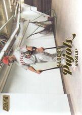2017 Stadium Club Baseball Gold Foil #269 Albert Pujols Angels