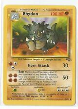 Pokemon Unlimited Edition Jungle set Rhydon 45/64 uncommon NM Condition