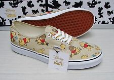 Vans Authentic Disney Winnie The Pooh Men's Size  10