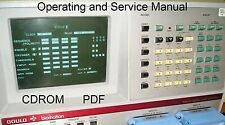 Gould K100-D Digital Logic Analyzer Operating and Service Manual * CDROM * PDF
