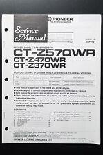 PIONEER ct-z570wr/z470wr/z370wr Original Service-Manual/Istruzioni/schema elettrico o4