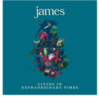 James - Living in Extraordinary Times - New Cassette Album