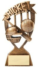 """6"""" Cricket Trophy Personalized Free"""