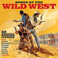 Songs Of The Wild West VARIOUS ARTISTS Best Of 50 Classic Western Songs NEW 2 CD