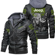 Jeep/CJ/Commander/Cherokee (XJ) Leather jacket, best gift, new jacket