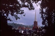 historic structures-Churches-St.Philip & James @ Phillipsburg NJ.Fuji slide