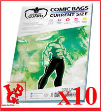 Pochettes Protection CURRENT Size REFERMABLES comics VO x 10 Marvel # NEUF #