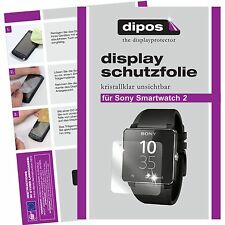 Sony smartwatch 2 Lámina protector de pantalla claro Dipos