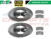 FOR JEEP COMPASS PATRIOT CHRYSER SEBRING REAR BRAKE DISC DISCS PAD PADS 302mm