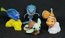 Disney Pixar FINDING NEMO  PVC TOY Figure CAKE TOPPER FIGURINE LOT OF 4