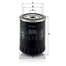 Mann W830/1 Oil Filter Spin On 119mm Height 86mm Outer Diameter Service