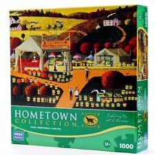 HOMETOWN COLLECTION Cambria Farmers Market 1000 Piece Puzzle by MEGA PUZZLES