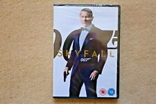 JAMES BOND SKYFALL       BRAND  NEW SEALED GENUINE UK DVD