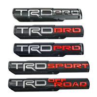 2Pcs TRD PRO/BRO/SPORT/OFF ROAD Door Emblem Sticker Badge For Toyota Tacoma OEM