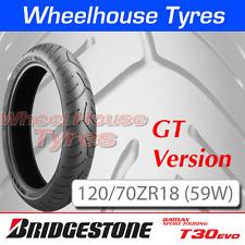 120/70ZR18 (59W) T30 GT EVO Bridgestone T/L Front