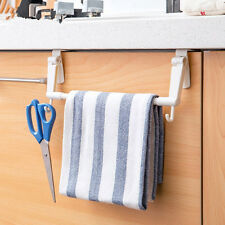 Kitchen Tissue Holder Hanging Bathroom Roll Paper Holder Towel Rack Door Hook