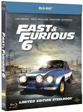 Fast & Furious 6 (2013) Limited Edition Steelbook (Blu ray)
