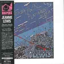 JEANNIE LEWIS-FREE FALL THROUGH...-IMPORT MINI LP CD w/JAPAN OBI Ltd/Ed G09