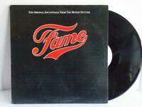 Fame Original Soundtrack LP RSO 1980 Gatefold Sleeve VG+