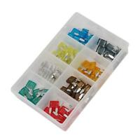 80 piece Car / Van Mini Blade Fuse Kit 2 - 5 - 7.5 - 10 - 15 - 20 - 25 - 30 AMP