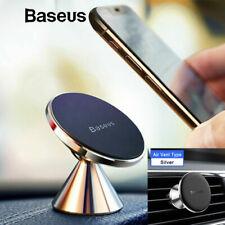 Baseus Car Phone Holder Universal Magnetic Mobile Stands 360 Degree Rotating