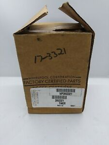 NEW Whirlpool 3953321 TIMER EMERSON DELTA FACTORY AUTHORIZED