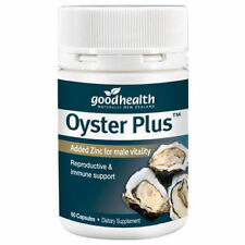 Good Health Oyster Plus 60 capsules -- Added Zinc for male vitality