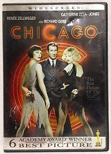Chicago (DVD, 2002) Widescreen, Catherine Zeta-Jones, Renee Zellweger, Reilly
