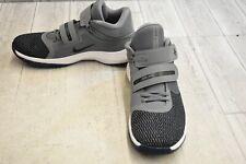 Nike Air Precision II Flyease Basketball Shoes - Men's Size 9.5 - Grey/Black