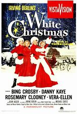 WHITE CHRISTMAS Movie POSTER PRINT 27x40 Bing Crosby Danny Kaye Rosemary Clooney