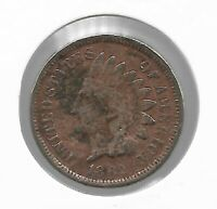 Rare Old Antique US 1862 Indian Head Penny Civil War Collection Coin USA Lot Y74