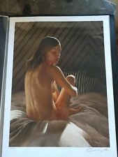 Aaron Nagel Surface Giclee Print Poster Signed #/100 Nude Rare