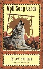 Wolf Song Cards by Lew Hartman - Tarot Cards, Native American, Animal Spirit