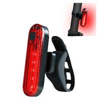 Fahrrad Rücklicht COB LED Warnlicht Lamp Mit USB Aufladbare 220mah Akku
