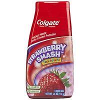 2 Pack Colgate Kids 2 In 1 Toothpaste Mouthwash Strawberry Liquid Gel 4.6oz Each