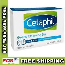 Cetaphil Gentle Cleansing Bar Soap For Dry And Sensitive Skin 127g FREE SHIPPING