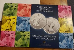 2012 Canada A Celebration 60 years in the making $20 .999 silver RCM packaging