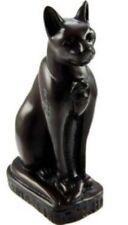 EGYPTIAN BAST CAT BEAUTIFUL FIGURINE 15cm CAST RESIN EGYPT STATUE ORNAMENT BOXED