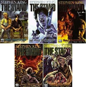 The STAND: SOUL SURVIVORS (5) Issue SET #1 2 3 4 5 1st print Stephen King Comic