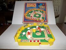 AWESOME 1988 SHELCORE SNAP ACTION BASEBALL GAME 2-PLAYERS 6+ NO 01807 W/ BOX