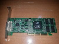 HP nVidia GF2 MX200 DVI-AGP 64MB Video Card 279392-001 4X 8859 Geforce2 Graphics