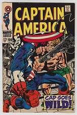 L3330: Captain America #106, Vol 1, VF+ Condition