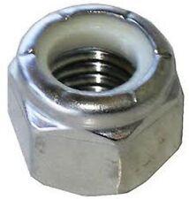 Stainless Steel 3/8-16 Nylon Insert Lock Nut 18/8 304 pack of 10