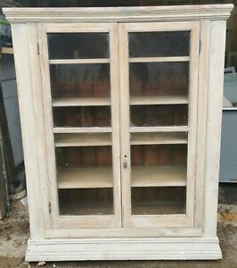Rustic Antique French Wooden Cabinet