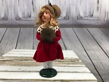 Byers Choice Victorian Child Caroler Singer Music Christmas Holiday 2002